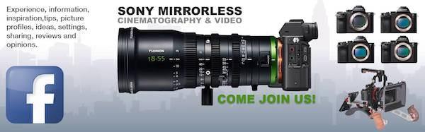 Sony-mirrorless-facebook-group-filmplusgear