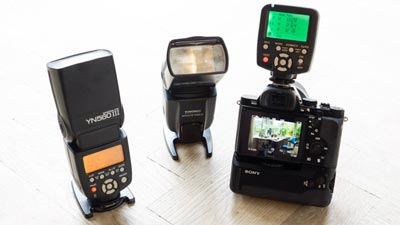 Yongnuo 560 III flash and Sony a7