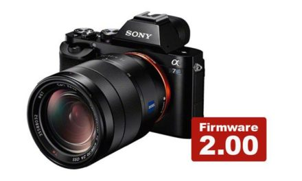 Firmware 2.00 for Sony a7S
