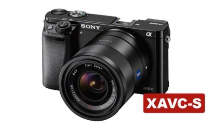 Sony a6000 now records XAVC-S