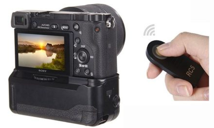 Battery grip for Sony a6000