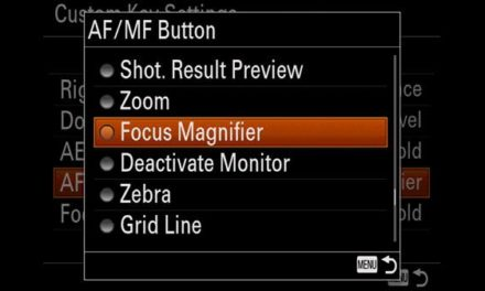 How to use Focus Magnifier Sony a7 and a6000 series cameras