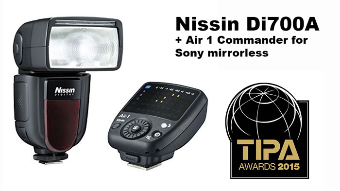 Nissin Di700A and Air 1 Commander Sony mirrorless