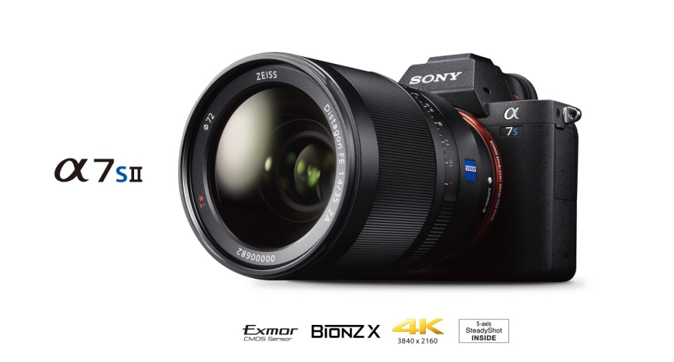Sony a7S II is now in stock