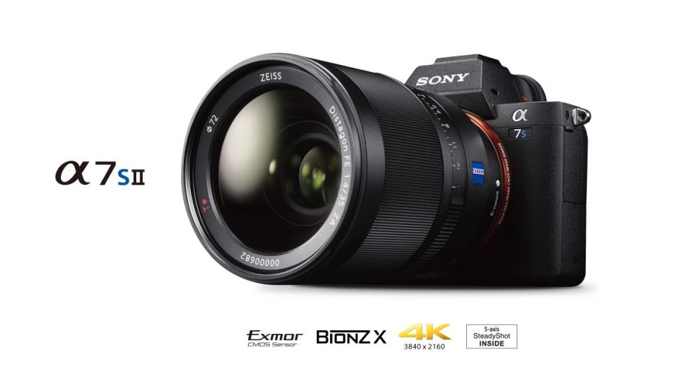 Sony a7S II is now in stock