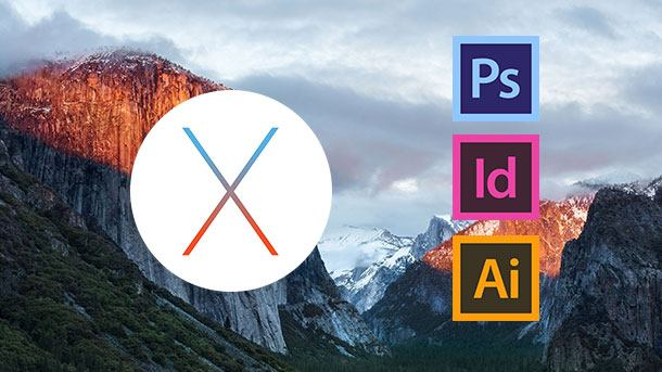 OS X El Capitan and Adobe CS6 – Solution