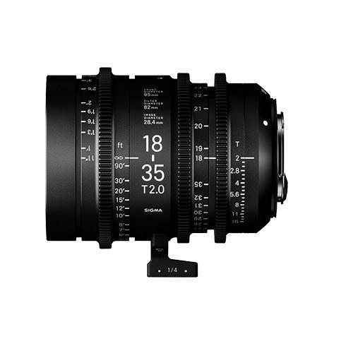 New full frame and super 35 Sigma Cine lens line for Sony E-mount