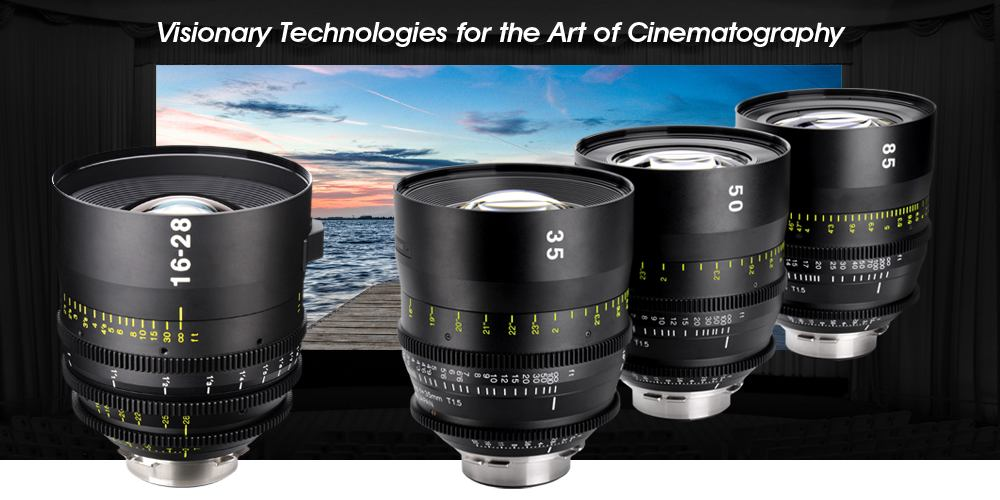 Tokina unveils new line of cine lenses with PL, EF, MFT and E-mount
