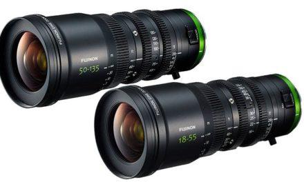 Fujifilm Fujinon MK 18-55 and 50-135mm t2.9 cinema lenses unveiled