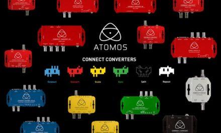 New converters from Atomos –  SDI, HDMI, fiber and analog