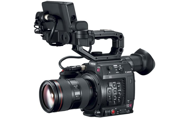 The Canon C200 Cinema with RAW light recording