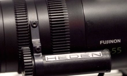 Heden VLC-1 motion control for the Fujinon MK lenses