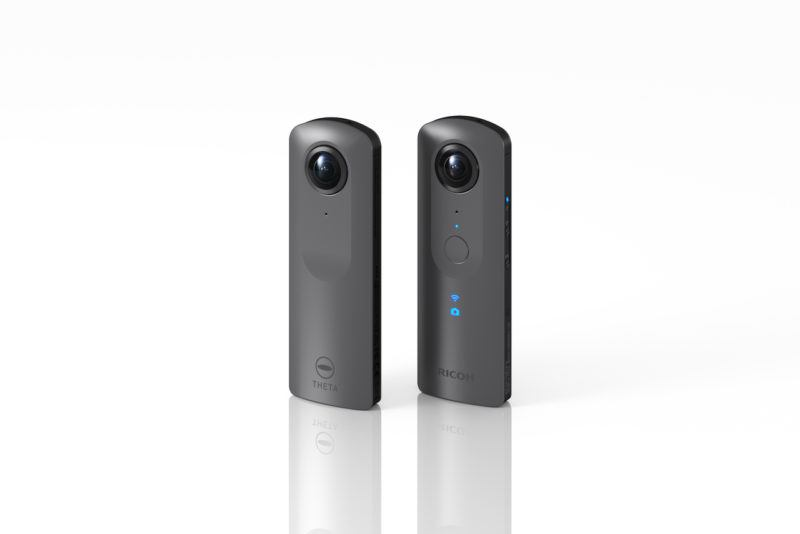 Ricoh Theta V – 4K in 360 degrees and 3D sound