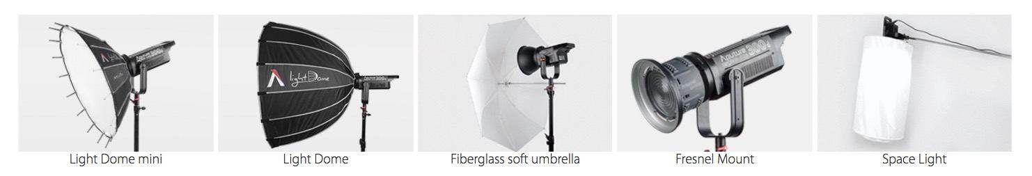 Aputure-light-modifiers-bowens-mount-Filmplusgear