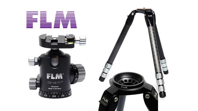 Indiegogo funded FLM Berlin 38.4 carbon tripod