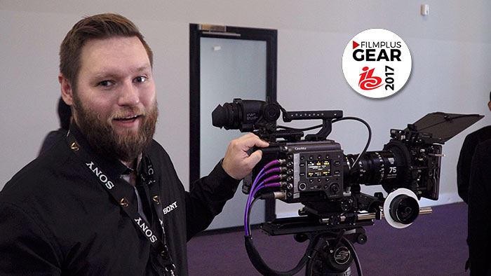 Sony Venice CineAlta 6K fullframe 36×24 cinema camera live at IBC