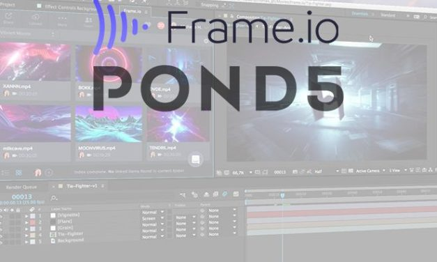 Frame.io now  integrates directly with Pond5