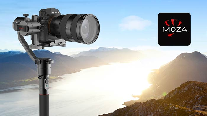 Moza AirCross for Mirrorless Cameras