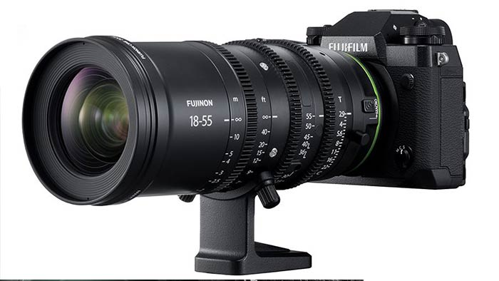 Fuji X-H1 Camera, MKX 18-55 & 50-135mm T2 9 Cinema Lenses