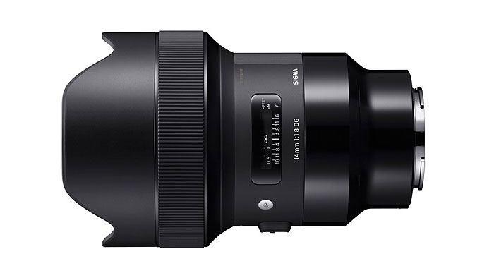 9 New Sigma Art prime lenses for Sony E-mount cameras