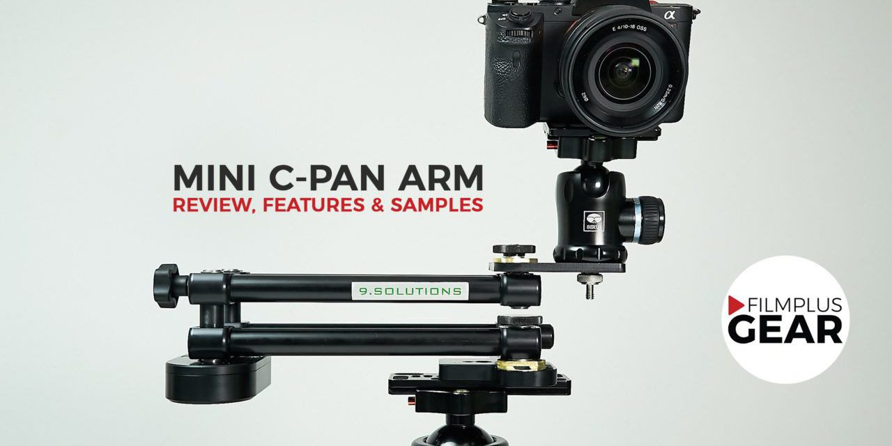 9.Solutions Mini C-Pan Arm review, features and samples