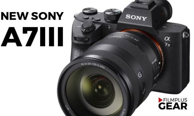 New Sony a7III full frame 24mp announced