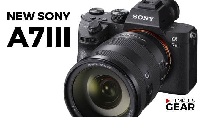 New Sony a7III full frame 24mp announced