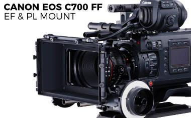 Canon EOS C700 FF Full Frame 5.9 RAW Cinema Camera
