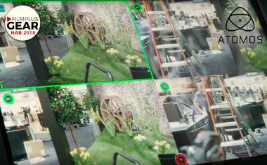Quad synchronous ISO recording with Atomos Sumo 19