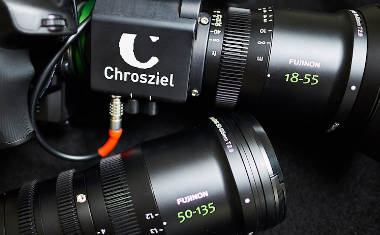 Chrosziel lens motorization for Fujinon MK zooms