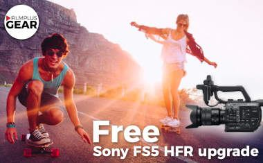Free Sony FS5 HFR upgrade <br> (High Frame Rate recording)