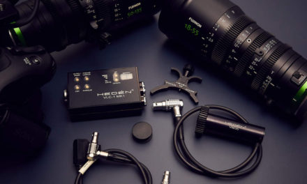 Hedén VLC-1 motion control for Fujinon MK/XK Cinema Lenses