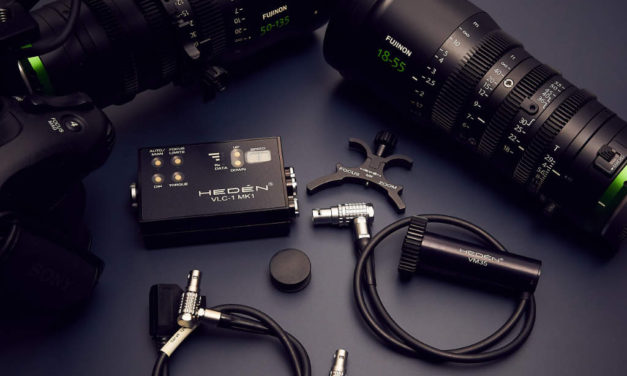 Hedén VLC-1 motion control for Fujinon MK/XK Cinema Lenses