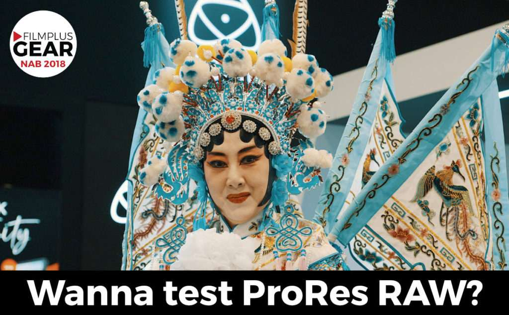 prores raw testfiles for download nab 2018 filmplusgear