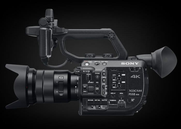 Sony-FS5-II-Pro-4K-Camcorder-filmplusgear