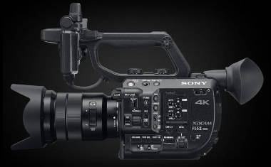 New Sony PXW-FS5 MKII announced at NAB 2018