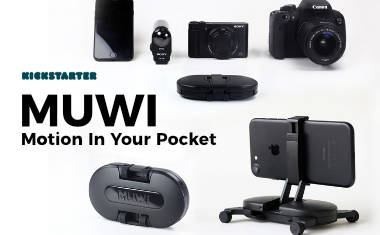 MUWI – The Ultra Compact Dolly for Smartphones & Cameras