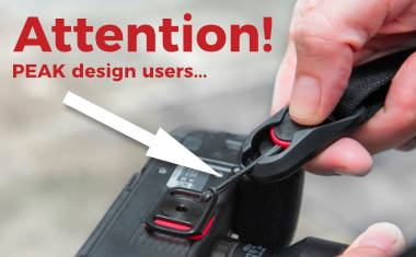 Peak Design replaces anchors – old ones might wear out and fail!