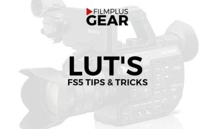 Sony FS5 LUT's (Under construction)