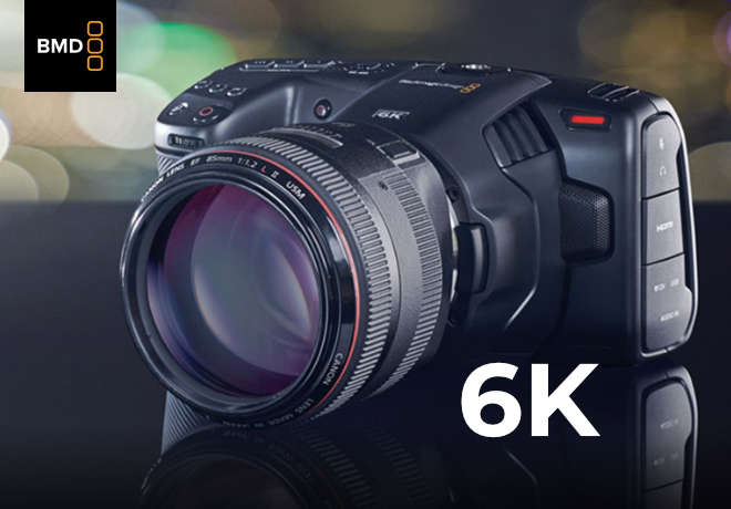 New Blackmagic Pocket Cinema Camera 6K