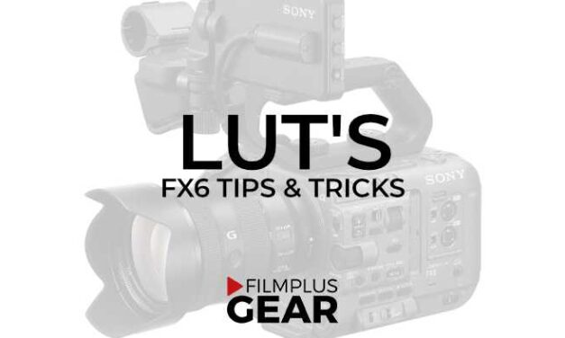 Sony FX6 LUT's – a growing collection…