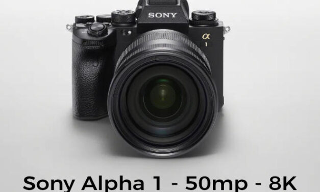 Sony releases a new Alpha 1 with 50mp with 8K video
