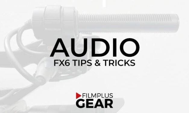 Audio gear and setup with Sony FX6