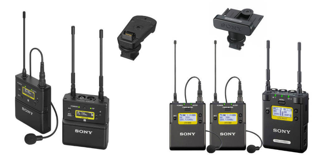 Sony UWP microports for Sony FX6
