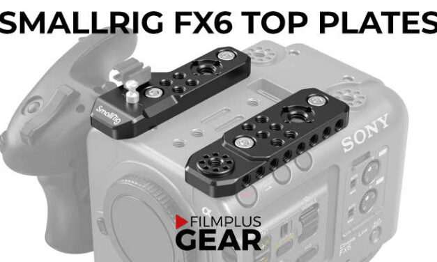 SmallRig Sony FX6 Top Plate 3186 has been released