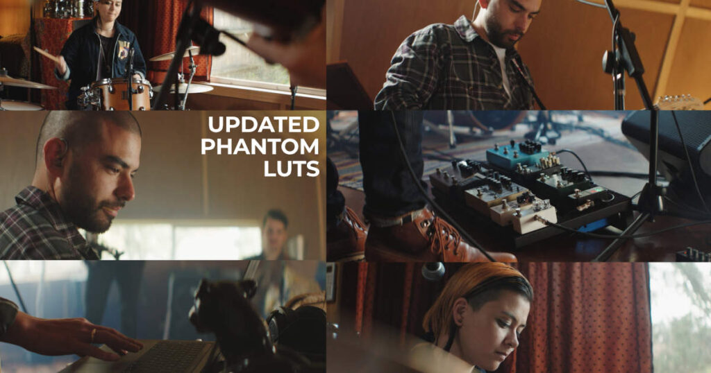 Phantom LUTs for Sony FX6 and A7SIII